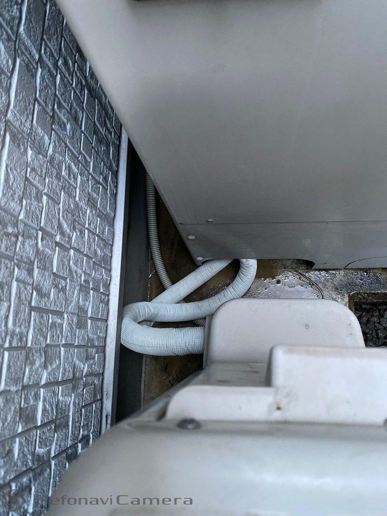 エコキュート漏水修理後