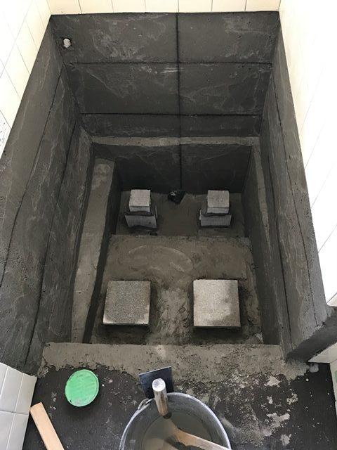 和歌山市N様邸浴室排水漏水改修工事施工事例写真