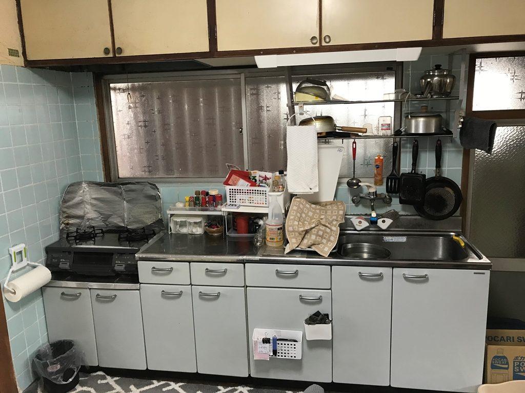 施工前キッチン画像