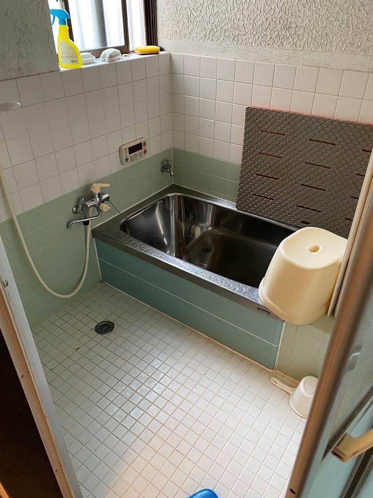 浴室リフォーム前写真