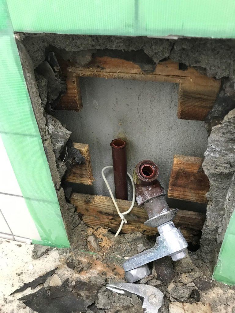漏水箇所発見状況