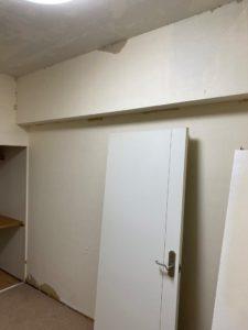 洋室内装工事状況