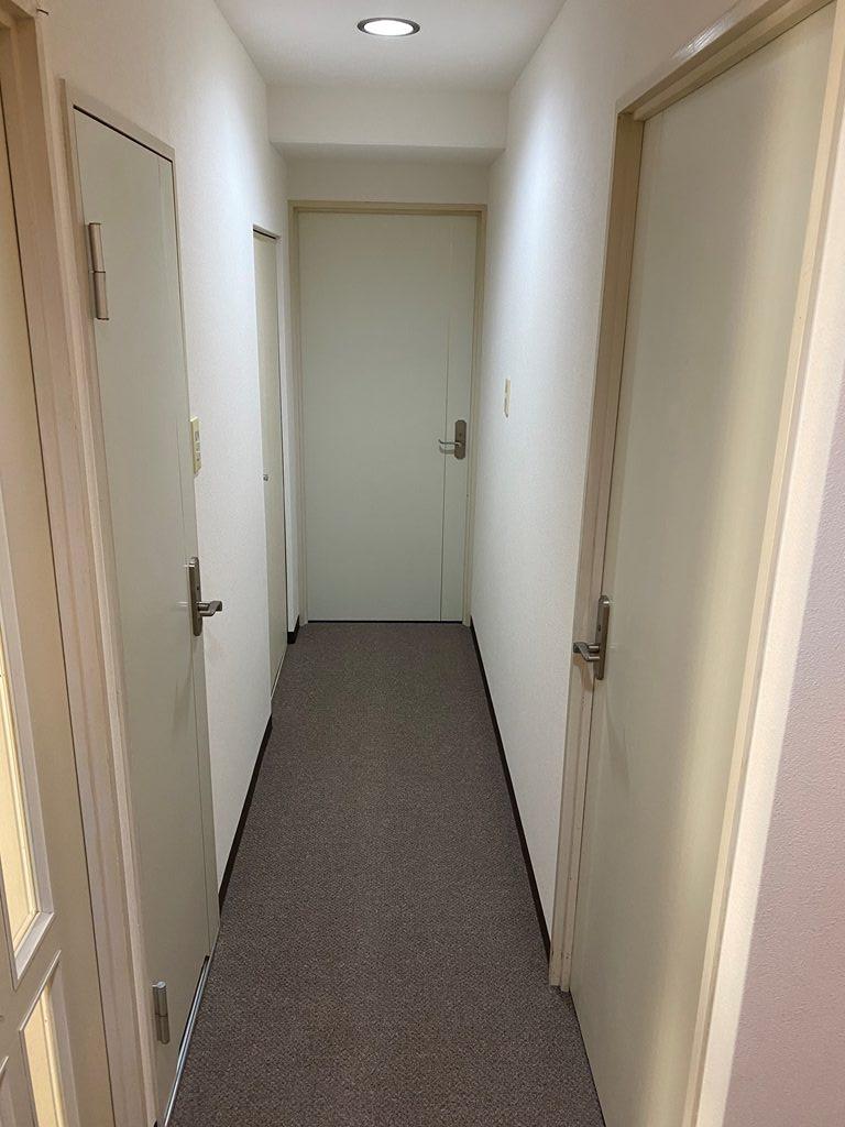 廊下内装工事完了
