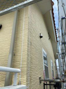 外壁塗装工事中写真