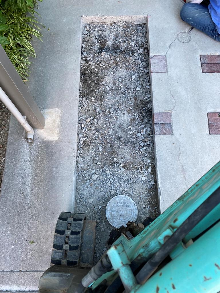 コンクリート斫り工事