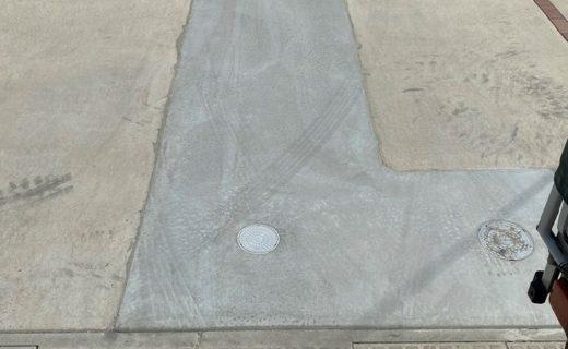 コンクリート打設工事完了