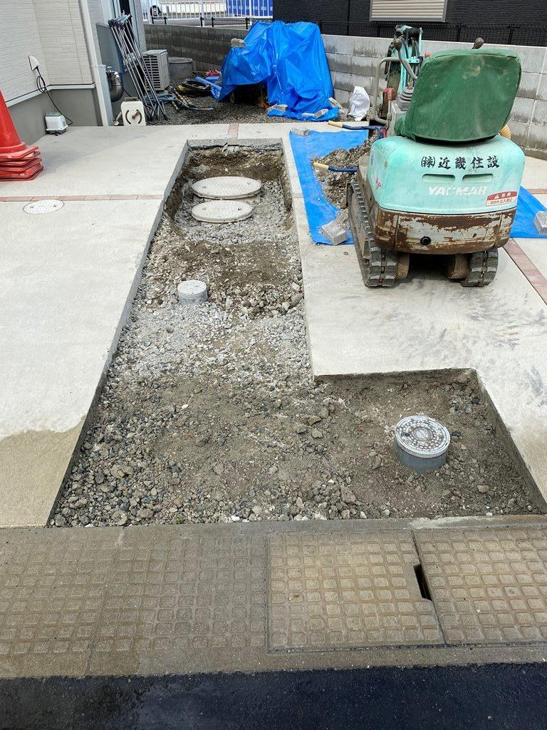コンクリート切断斫り工事