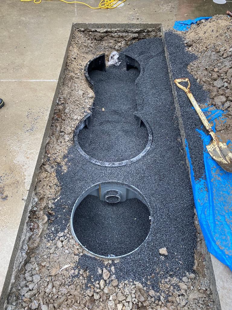 浄化槽砂入れ工事