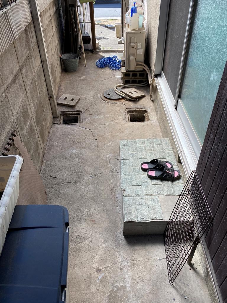 公共下水接続工事現況写真2