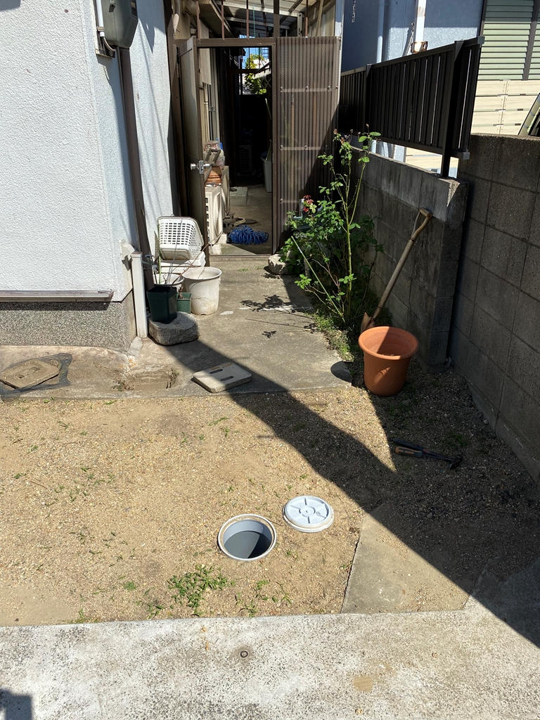 公共下水接続工事現況写真3