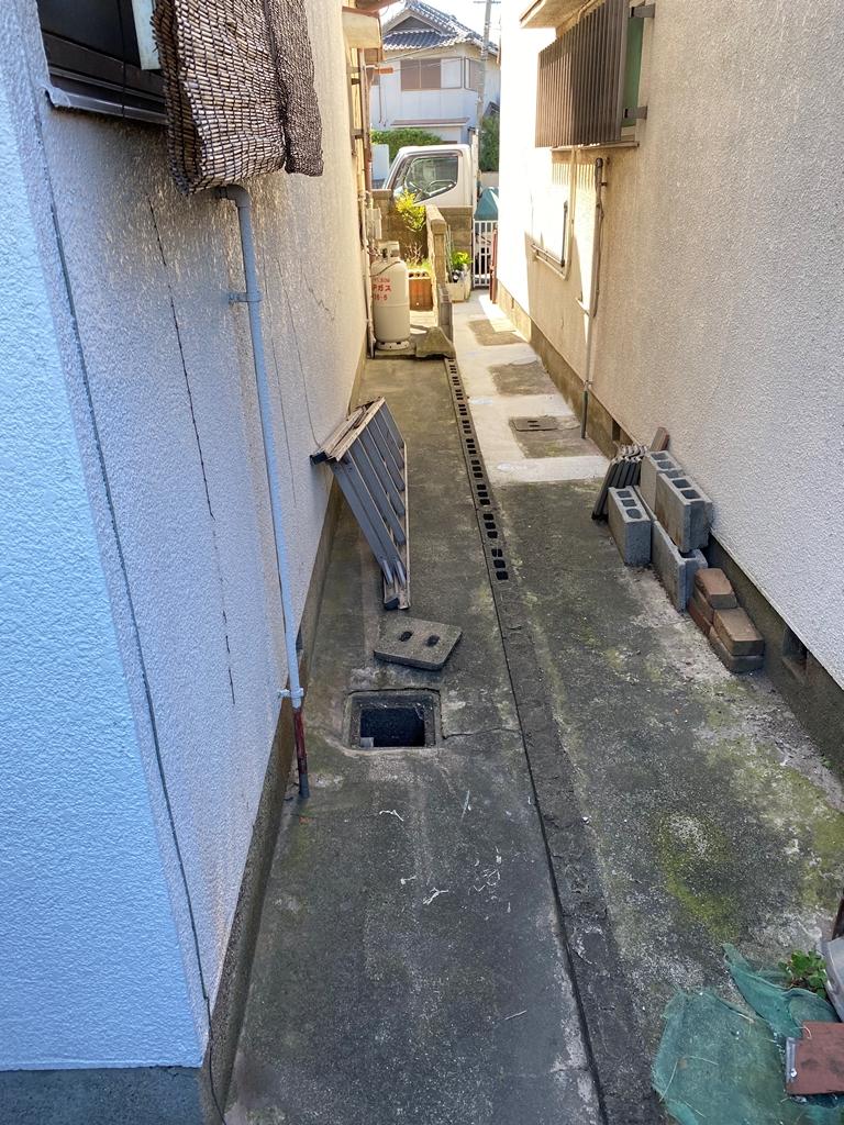 公共下水接続工事現況写真4