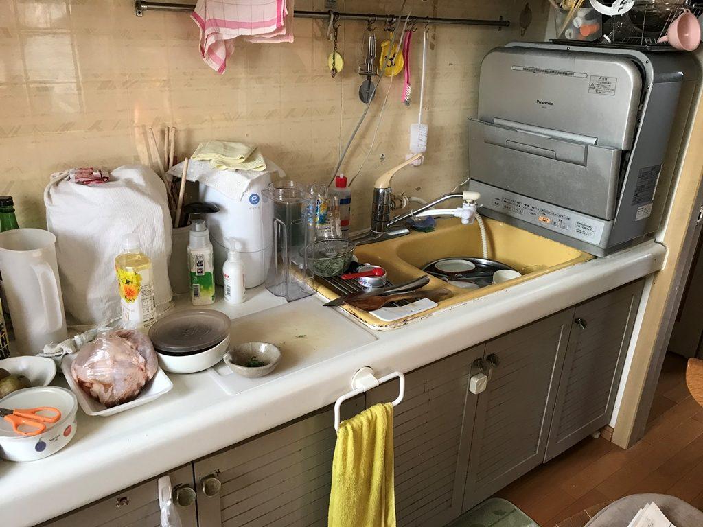 キッチンリフォーム施工前画像