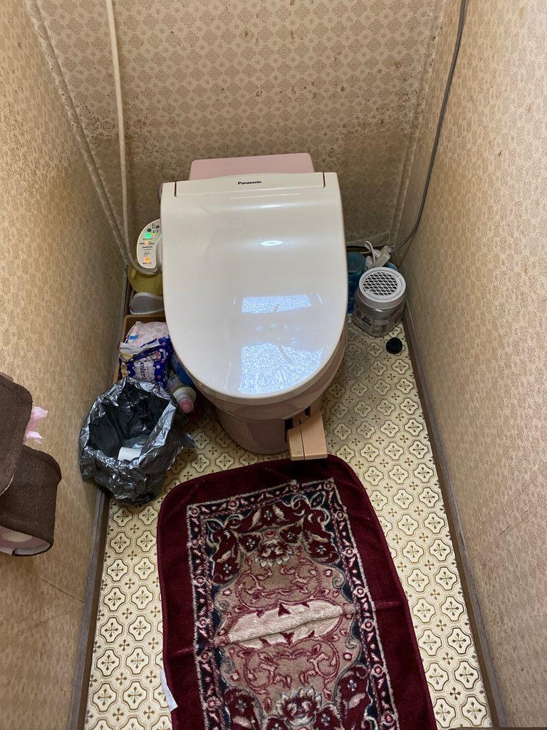 既設簡易水洗便器