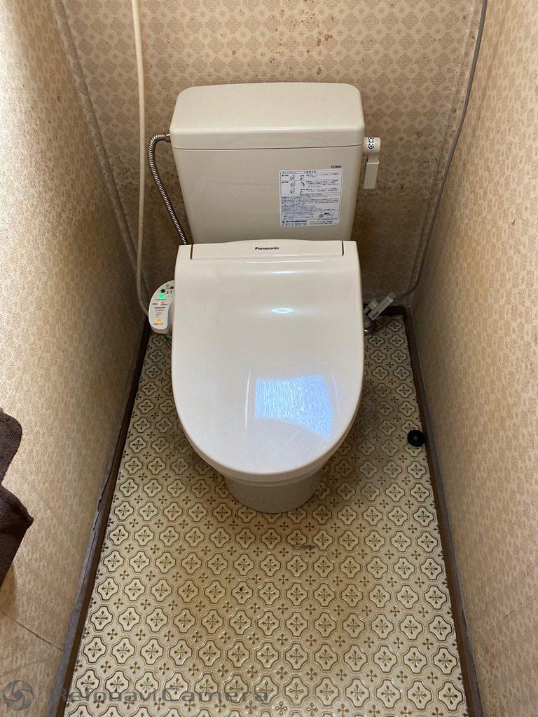 リフォーム後の簡易水洗便器