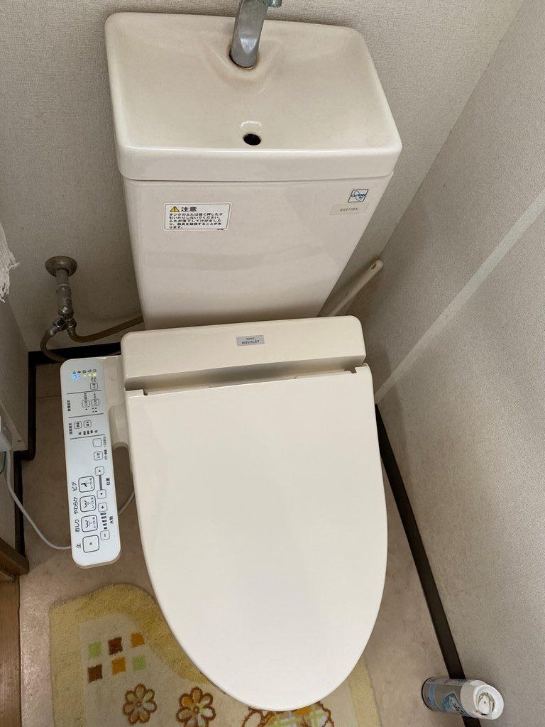 洗浄便座取替え工事後写真