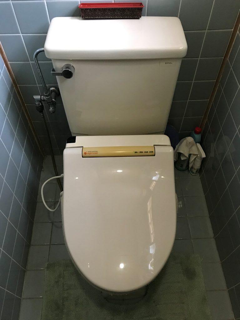 洗浄便座取替え工事前写真