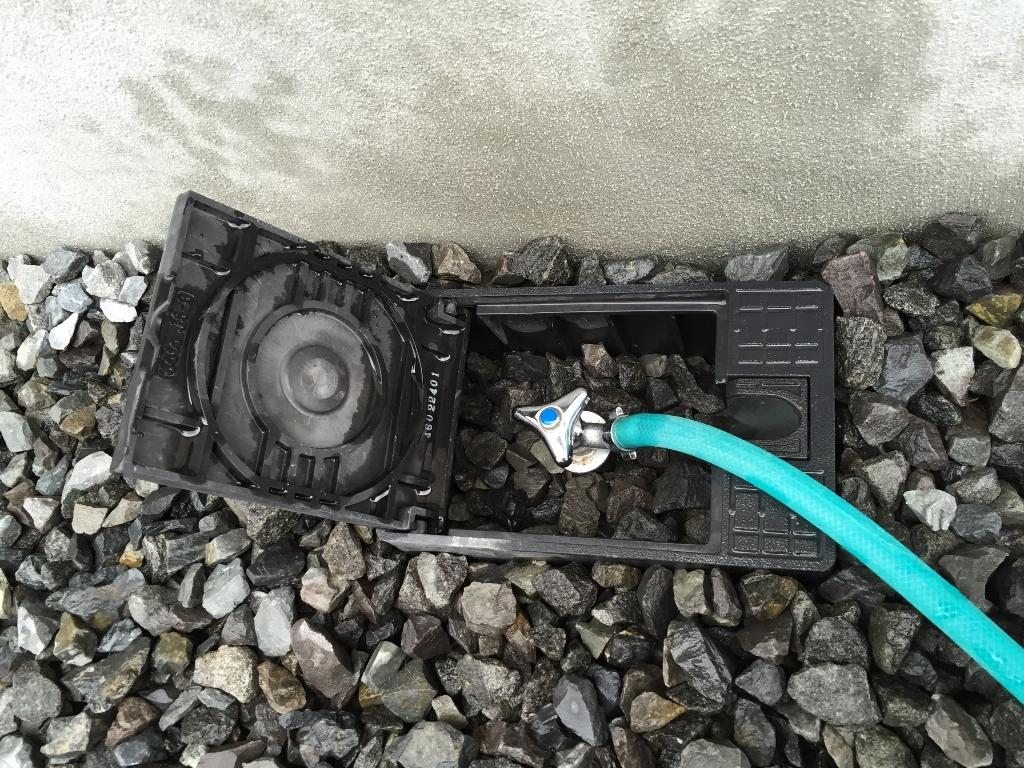 散水栓の画像