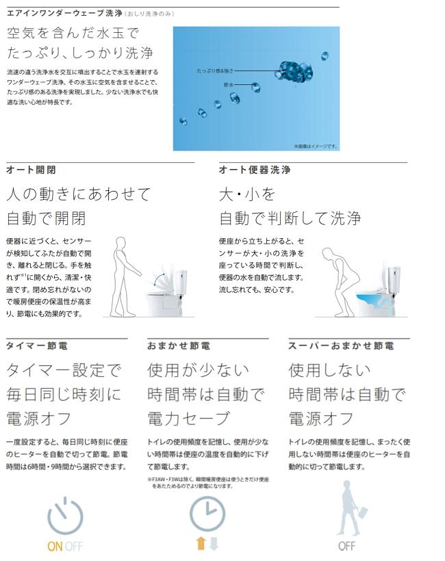 洗浄便座機能
