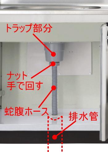 台所排水トラップ