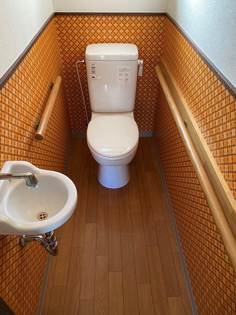 簡易水洗トイレリフォーム完了